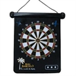 "Magnetic Dart Board - 9.65"" x 11.8"" black dart bard that's magnetic and includes two darts"