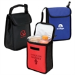 Buckled Up Cooler Bag - 420D and PEVA lunch sack cooler with padded buckle handle.