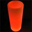 "Light Up Planter -Cylinder - Light up planter - cylinder, 30"" x 12""."