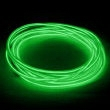 EL Wire - 5 mm x 9 ft Green - Green wire - 5 mm x 9 ft.