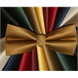 "Neckwear solid ribbed bowties - 100% Polyester Faille Bowtie, Collection T-10, 4.75""x2"", Banded with formal closure"