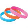 "1/2"" Silicone Bracelet - Silicone bracelet, 1/2"", deboss."