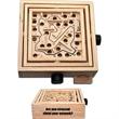 Wooden Double Maze Puzzle
