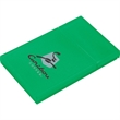 Plastic Business Card Holder - Business card holder features a flip-top opening.