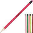 Pencil with Matching Eraser & Body - Pencil with colorful bodies with matching colored eraser.