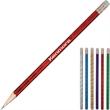 Pencil with Designer Body - Pencil with designer bodies with standard eraser.