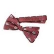 Custom Woven Banded Bow Tie - Custom Woven Banded Bow Ties.
