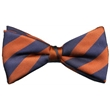 Custom Woven Clip On Bow Tie - Custom Woven Clip On Bow Tie for a professionally matched attire for all your employees
