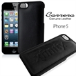 Carrera iPhone LEATHER Case - Luxurious protective leather iPhone 5 case (debossed)