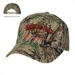 Camouflage Cap - Camouflage five panel cap with pre-curved visor.