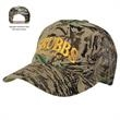 Mesh Back Camouflage Cap - Camouflage cap with five panels and mesh back.