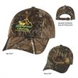 Hunter's Hideaway Camouflage Cap - Camouflage cap, 6 panel, low profile 100% brushed polyester twill.
