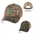 Hunter's Hideaway Mesh Back Camouflage Cap - Camouflage cap, 6 panel, low profile 100% brushed cotton.