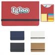 Sticky Notes And Flags In Pocket Case - Sticky notes and flags in pocket case.