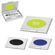 Saturn Business Card Holder - Business card holder, fits in your pocket or briefcase.