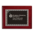 "Fairfield Small Plaque Award - 7"" x 9"" recognition plaque with polished rosewood border and finely smoothed edges."