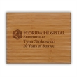 Renewal Large Plaque Award - Recognition plaque made of eco-friendly bamboo.