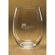 Stemless White Wine Glass - Set of 4 - Set of four - 15 oz. wine glasses.
