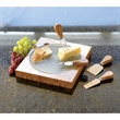 Fontina Bamboo Cheese Board - Bamboo cheese board.