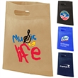 Large heat sealed convention tote - Large heat sealed convention tote made of 80gsm non woven fabric.