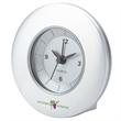 Desk Clock - Quartz movement desk clock with alarm function.