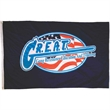 Large Flag 1.8' x 3' Full Color  - Small Quantity