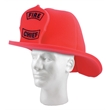 Foam Fireman Hat - Foam fireman hat. One size fits most.