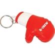 Plush Boxing Glove Keychain
