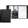 "Stratford  (TM) Executive Padfolio - Italian style padfolio, 5.5"" x 8"", with elastic loop, internal pockets and penloop."