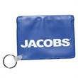 """Waterproof Pouch With Key Ring - 3"""" x 4"""" waterproof pouch with press and seal closure and key ring."""