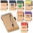 Mini Eco-Note Combo - Pocket mini note keeper and paper barrel pen.