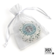 Picture Oreo Cookies- 1/Organza Bag - Chocolate dipped logo oreo individually wrapped in organza bag