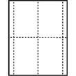 "3 5/8"" x 5 1/2"" Classic Paper Name Badge Insert - 3 5/8"" x 5 1/2"" classic paper name badge insert. Full-Color Hi-Def."