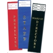 Blue Award Winner Tail-Type Award Ribbon - Blue Award Winner tail-type award ribbon with gold foil - stock imprint. Blank.