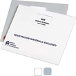 "13"" x 10"" Heavyweight Paper Registration Envelope - Heavyweight envelope, 13"" x 10"". Blank."