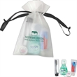 Keep Smiling dental care kit - Dental care kit in a biodegradable drawstring EVA bag with polyester ribbon.