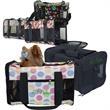 Travel Duffel Pet Carrier - Travel duffel pet carrier, 600 denier polyester with mesh.