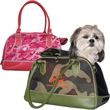 Camo Travel Tote Pet Carrier - Camo travel tote pet carrier.