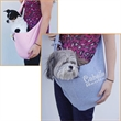 Casual Soft Sling Bag Pet Carrier - Casual soft sling bag pet carrier.