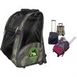 Deluxe Rolling Backpack Pet Carrier - Deluxe rolling backpack pet carrier.