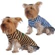 Striped Dog T-Shirt - Striped dog t-shirt, cotton and poly blend fabric.