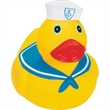 Big Rubber Mariner Duck - Squeaky yellow big mariner duck, balanced for floating.