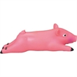 Rubber Squealing Pig Dog Toy - Rubber dog toy.