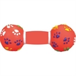 Rubber Dumbbell Dog Toy - Rubber dog toy.