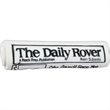 Rubber Rolled Newspaper Dog Toy - Rubber dog toy rolled newspaper