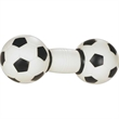 Rubber Soccer Ball Dumbbell Dog Toy - Rubber Dog Toy