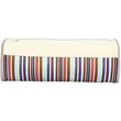 Elongated Brush Bag With Top Band - Elongated brush bag with top band.