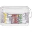 Transparent 6-pack Cooler Bag (Air Jacket Insulation) - Transparent 6 pack cooler.