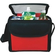 Executive 6-Pack Bag - Executive nylon 6 pack bag with double zip main compartment.