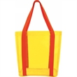 Beach Clear Tote Bag - Transparent Beach Clear Tote Bag has ample room for items.